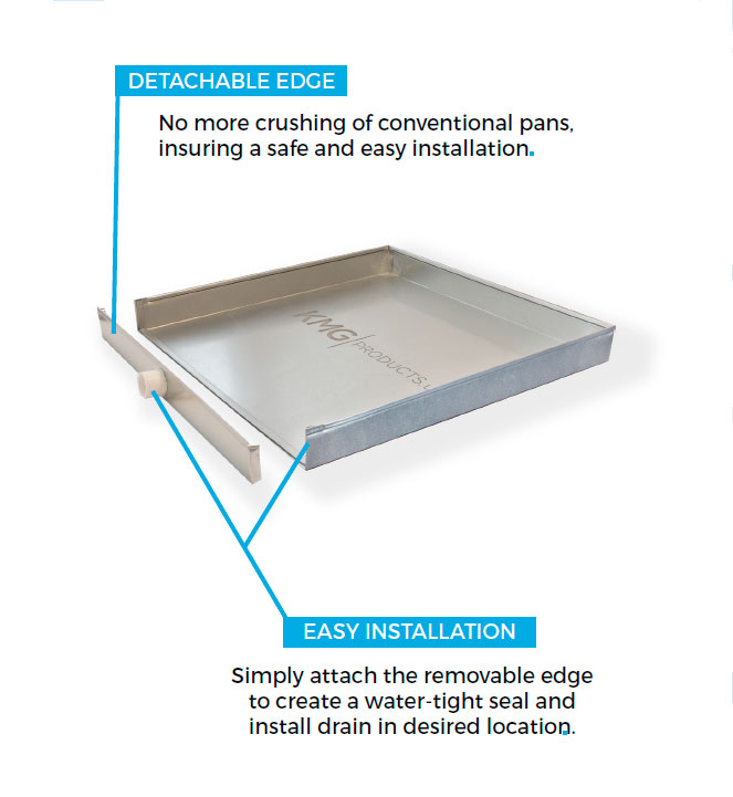 The Square Water Heater Pan